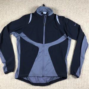 Nike Running Jacket Black & Gray size XL 16-18